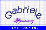 Nome * Gabriele*...scritta arcata!-gabriele-png