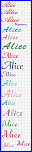 Nome * Alice * in corsivo...-alice-png