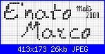 "Richiesta frase "" E' nato Marco"" in vari font....-e-nato-marco-jpg"