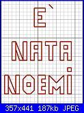 """Cerco schema """" E' nata Noemi""""-nata_noemi_2-jpg"""