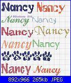 "Il font di ""Benvenuto Samuele""-nancy-jpg"