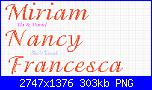 """Il font di """"Benvenuto Samuele""""-miria-nancy-francesca-35-adorable-png"""
