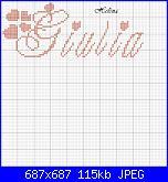 Richiesta colori e schema nome * Giulia * con font  MC Sweey Heart......-g-jpg