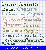Scritta * Cameretta e Bagno*-ccb-jpg