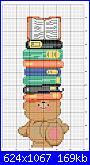 Ridurre schema orsetto segnalibro-segnalibro-fila-libri-jpg