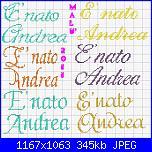 """Scritta """" E' nato Giuseppe""""-%2520nat%7E1-jpg"""