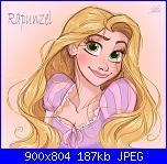 Principesse Disney o Rapunzel-rapunzel-disney-tangled-enredados-david-gilson-jpg