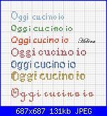scritta...*OGGI CUCINO IO*-cucino-jpg