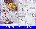nozze d'argento sacchettini con iniziali * M e B*-32-33anelli-greca-fiorell-jpg