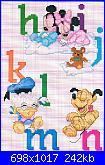 Scritta * SOGNI D'ORO + Disney Baby*-abecedario2-jpg