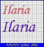 per lidiatara1 nome * Ilaria* font Monotype corsivo...-ilaria-jpg