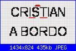 """nome Cristian per schema """"Bimbo a Bordo"""" con Winnie-bordo-jpg"""