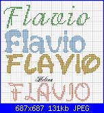 Nome * Flavio*  font Walt Disney o corsivo-flavio-jpg