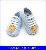 E' nato Michele + scarpine-scarpe-bambino-di-winnie-pooh-celesti-disney-store-jpg