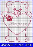 Cerco Orsetto semplice monocolore-orsetto-punto-croce-jpg