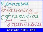 Nome * Francesca* in vari modi-francesca-jpg