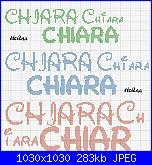 x hèlena chiedo scritta nome *Chiara*con alfabeto Walt Disney-chiara-new-jpg
