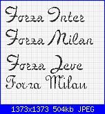 Scritta  *Forza Milan, Inter, Juve, Torino*-forza-squadre-calcio-jpg