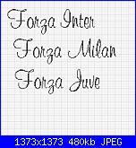 Scritta  *Forza Milan, Inter, Juve, Torino*-sq-jpg