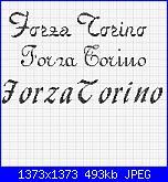 Scritta  *Forza Milan, Inter, Juve, Torino*-h-jpg