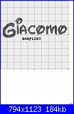 Nome Giacomo alfabeto disney-giacomo_disney_font-jpg