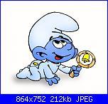 Richiesta puffi per Guapa86-puffo-baby2-jpg