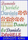 Richiesta nome  *Daniele * e scritta  * Prima Comunione*-daniele-jpg