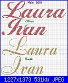 Scritta arcuata: è nato Ivan-laura-ivan-2-jpg