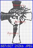 schema per segnalibro gesù in croce gesù(bigmammy)-croce-ges-2-jpg