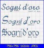 Scritta * Sogni d' oro* per lenzuolino con font flubber e altri font-sogni-d%5Coro4-jpg