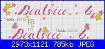 Nome Matilde per bavetta-beatrice-jpg