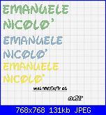 Cerco nome * Emanuele e Nicolò * con alfabeto Disney-nomi-jpg