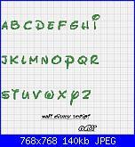 Cerco nome * Emanuele e Nicolò * con alfabeto Disney-alfabeto-jpg