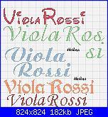 Schema nome *Viola Rossi* in corsivo-viola-jpg