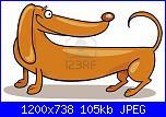 Conversione foto > schemi bassotti-5839952-cane-bassotto-jpg