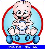 bimbo con il volante-baby-racer-pat-png