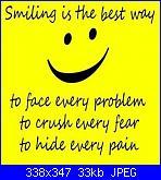 Richiesta schema Smiling is the best way-smile-jpg