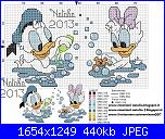 Schema Disney bagnetto 30 punti-paperina-paperino-bagnetto1-jpg