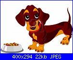 bassotti a bordo per Natalia-6779893-cane-bassotto-carino-vicino-ciotola-di-cibo-per-cani-jpg