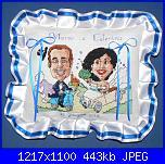 Schema caricatura sposi-cuscino-caricatura-jpg