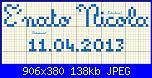 Scritta: E' nato Nicola + data 11.04.2013-nato-nicola-jpg