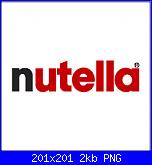 Scritta verticale I love Nutella + barattolo-nutella-png