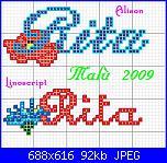 Richiesta schema nome * Rita* con alfabeto floreale-rita-con-fiori-jpg