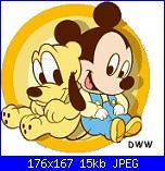 rimpicciolire: pluto e topolino baby nanna-disney_baby_su029-jpg
