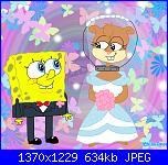 Spongebob e Sandy sposi + Baby Spongebob-spongebob-e-sandy-sposi-immagine-jpg