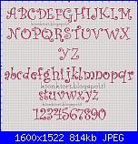 E' nata aurora-alfabeto-curlz-mt-completo-h30-jpg