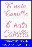 Nome Nicole e Melania-%C3%A8-nata-camilla-jpg