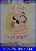 Per Natalia scritta è nata Martina-%E8-nata-martina-es-2-png