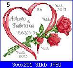 Per Natalia: modifica schema portafedi con tre rose-cuore-con-tre-rose-jpg