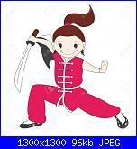 Schema da immagine-15481830-illustrazione-della-ragazza-kung-fu-con-la-spada-archivio-fotografico-jpg
